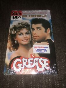 Grease 20th Anniversary Limited Edition VHS CD Script Interviews New Sealed