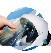 Devilbiss Sperian Air Fed Mask Tear-Off Clear Visor Covers Pack 50 BULK Airfed