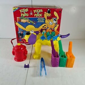 Fleas On Fred Vintage Rare Family Board Game Working 1993 Tyco Games
