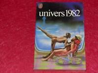 "[BIBLIOTHEQUE H.& P.-J. OSWALD] REVUE ""UNIVERS"" 1982 SADOUL FREMION J'ai lu 1340"
