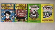 James Patterson Books  I Even Funner, I Totally Funniest & 2 Middle School
