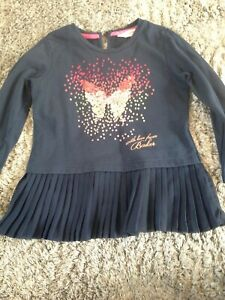 blue sweat shirt age 4-5 years by Ted Baker