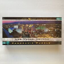 Las Vegas Nevada Panoramic Puzzle Over 3 Feet 750 Pieces Buffalo Games Sealed