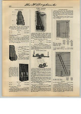 1931 PAPER AD Coburn Myers Richards Wilcox Store Library Rolling Ladder