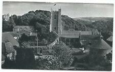 "SOMERSET - DUNSTER CHURCH & DOVECOTE ""BELL TUNES"" Large Format Postcard"