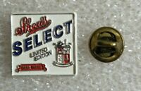 """Shea's Select Limited Edition Beer Biere Lapel Pin - Plastic - Approx. 0.75"""""""