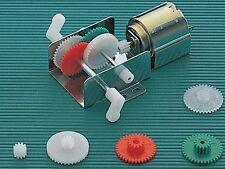 Elenco Electronics 21-130 2 In 1 Gearbox Unassembled Gear Box w/Motor