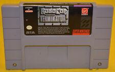 RoboCop vs. The Terminator (Super Nintendo SNES) Cartridge Only. Free Shipping