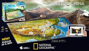 4D Ancient China (Nat Geo) 600 Pieces
