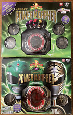 Mighty morphin power rangers legacy morpher twin pack.