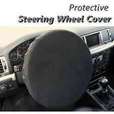 Steering Wheel Protective Cover for Garage Workshop Universal Size Black PP5