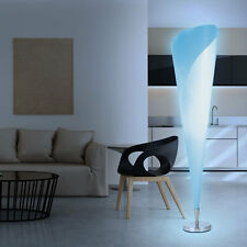 LED RGB Büro Beleuchtung Farbwechsel Fernbedienung Flur Stehlampe HxB 143,5x35cm