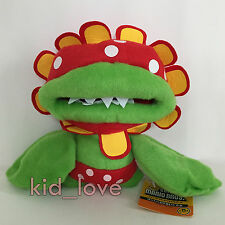 Super Mario Bros. Petey Piranha Plush Character Soft Toy Stuffed Animal Doll 7""