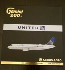 Gemini 200 United Airlines Airbus A320 N404UA G2UAL221 'UniCon' livery