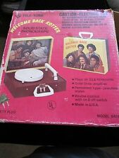 Welcome Back Kotter Record Player in Box