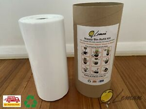 100M Nappy Bin Refill Kit Compatible With Tommee Tippee Sangenic Click & Twist