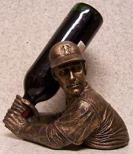 Wine Bottle Holder Bam Vino Sculpture MLB Texas Rangers Baseball Batter Up NEW