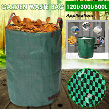 120-500L Garden Waste Refuse Rubbish Grass Large Holder Bag Case Sack Heavy Bags