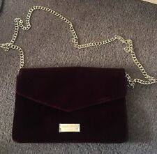 Jimmy Choo Parfums Burgundy Clutch Purse Bag NEW