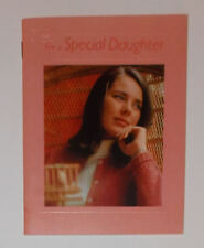Vintage Hallmark For a Special Daughter Book Card Poems Quotes Treasures
