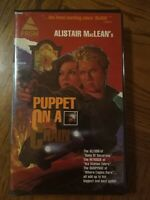 Puppet On A Chain VHS 1971 Action Thriller Barbara Parkins Free Shipping