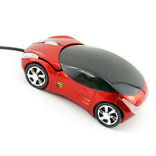 800 DPI Car Shape USB Optical Mouse