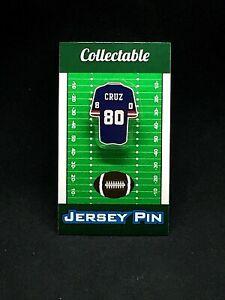 New York Giants Victor Cruz jersey lapel pin-Classic G-Men Collectible