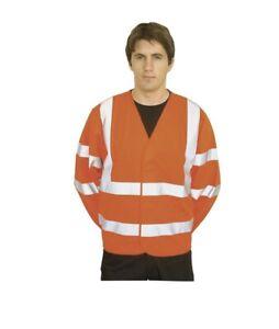 Hi Viz Jacket Portwest C473 Two Band Jacket 2xl/3xl Orange