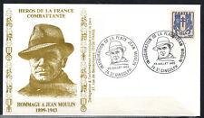 1983-Fdc-Enveloppe Philatélique 1°Jour-J.Moulin-74.St.Gingolph-Timbre Yv.673