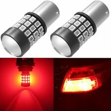 Alla Lighting 39-LED PY21W 7507 High Power Turn Signal Blinker Light Bulb,Red,2x