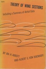 Theory of Wing Sections and Airfoil Data (1959, Paperback)