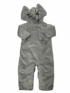 Pottery Barn Kids New w/Tags Gray Elephant Halloween Costume 12-24 Months $59