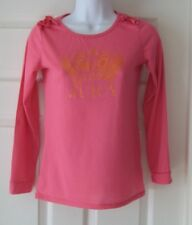 Juicy Couture Ladies Pink Top Long Sleeved T Shirt Size 12
