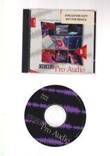 CD CAKEWALK PRO AUDIO version 5 midi digital audio music software