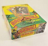 1987 OPC O Pee Chee Baseball Wax Box Unopened BBCE Authenticated
