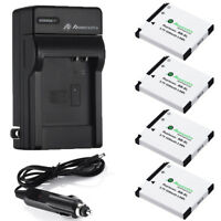 NB-8L NB8L Battery + Charger For Canon PowerShot A2200 IS A3000 A3100 A3300 USA