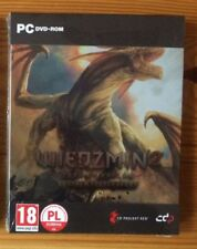 THE WITCHER 2 STEELBOOK G2 PC DVD POLISH EXCLUSIVE WIEDŹMIN STEEL + GOG CODE