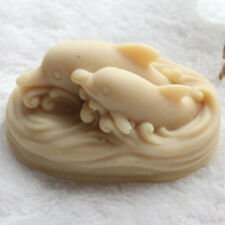 Soap Molds Silicone Craft Mold Diy Candle Clay Mould For Soap Making Two Dolphin