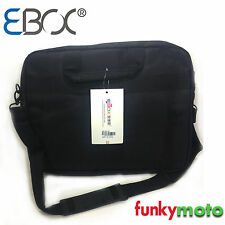 "15.6"" WATERPROOF LAPTOP BAG BASIC STRAP BLACK COMPUTER CARRY TRAVEL LUGGAGE FL5"