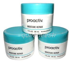 Set of 3  PROACTIV Moisture Repair 1oz 30mL ( EACH) Moisturizers - NIB