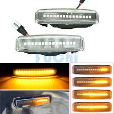 Clear LED Dynamic Side Marker Light For BMW E39 525i 528i 530i 540i M5 1998-2003