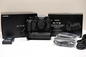 Fuji Film X-T2 (like new) w/ battery grip