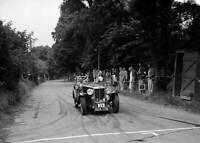AB Langley's MG Magnette, Torquay Rally 1937 6x4 OLD MOTOR RACING PHOTO