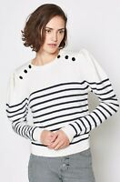 JOIE Ruthine Striped Pullover Sweater size Small NWT $218