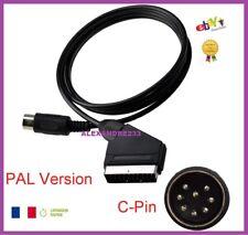 CABLE RGB PERITEL POUR SEGA MEGADRIVE 1 PRISE C PIN - PAL