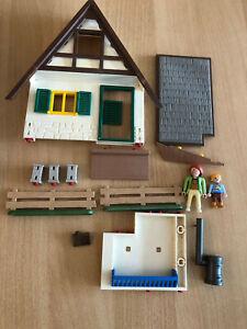 Playmobil 4207 Forsthaus  Konvolut Ersatzteile
