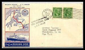 GP GOLDPATH: PANAMA COVER 1939 MAIDEN VOYAGE _CV685_P02