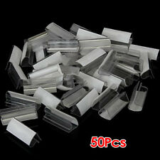 50pcs Plastic  Table Skirt Skirting Clips 2-4cm Wedding Party CT C5U5 N5S2