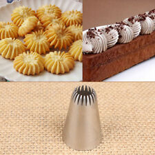#195 Icing Piping Nozzle Pastry Tips Stainless Steel Baking Mold Cake Decors A+