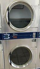 Dexter Stainless Steel Stack Dryer Coin Op 30Lb, 120V, Model #: Dl2X300 [Refurb]